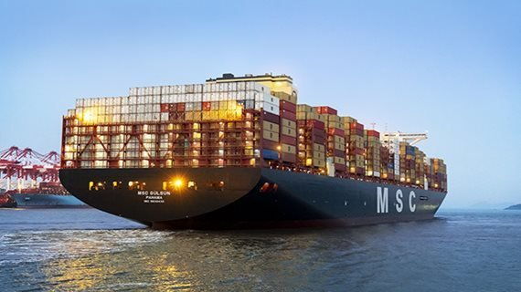 MSC increases stake in Terminal Investment