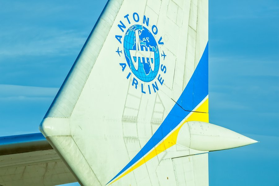 Antonov Airlines and partners fly satellite