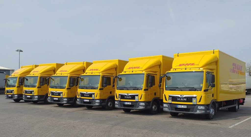 DHL Adds 1,000 Vehicles to Fleet