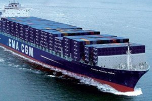 cma cgm shipping container